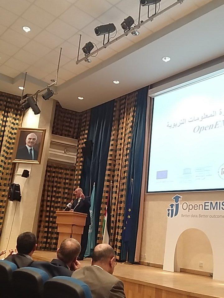 Jordan Launches OpenEMIS