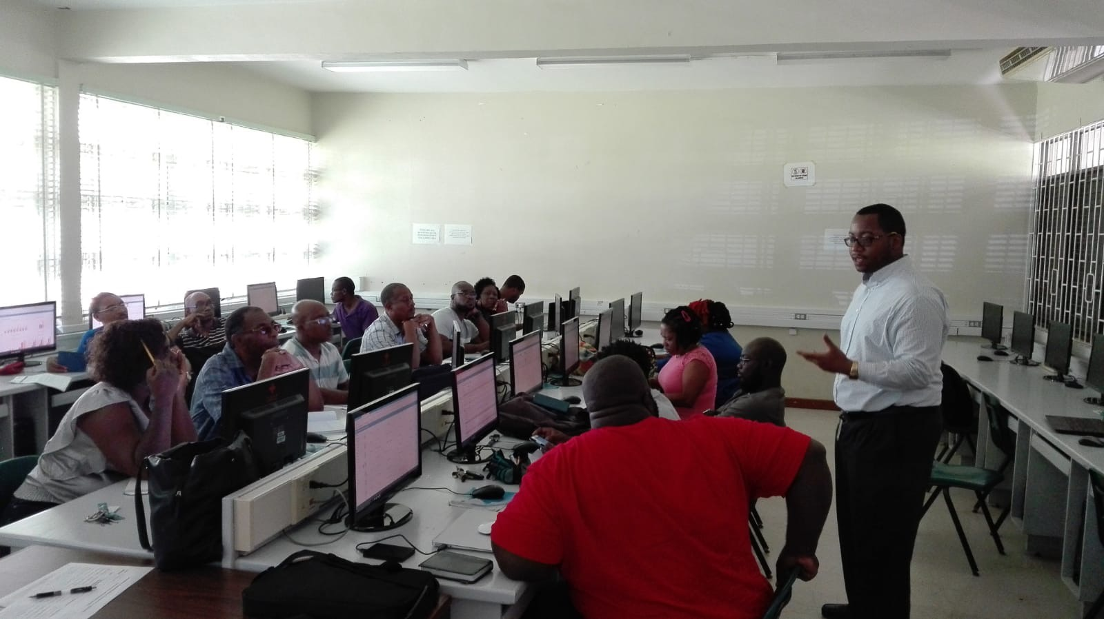 As Training Concludes, National Rollout out of OpenEMIS Begins