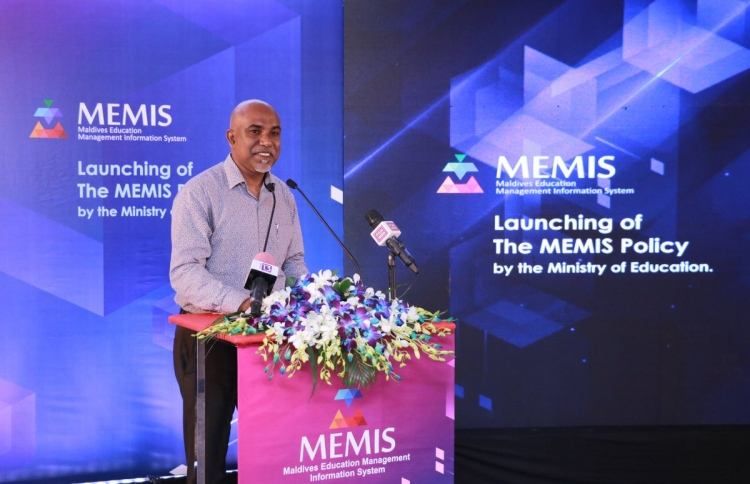 Education Ministry in the Maldives launches MEMIS policy